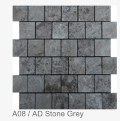 A08 / AD STONE GREY: 300X300X4MM