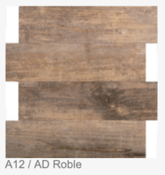 A12/ AD ROBLE: 300X300X4MM